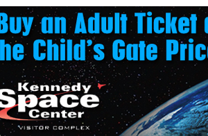 Kennedy Space Center discounted tickets