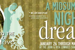 2 for 1 tickets: A Midsummer Night's Dream