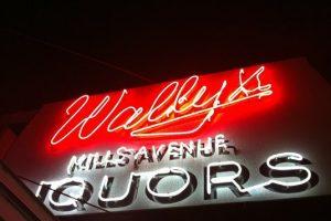Wally's drink specials
