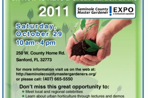 Free event: Gardening Expo, Seminole County