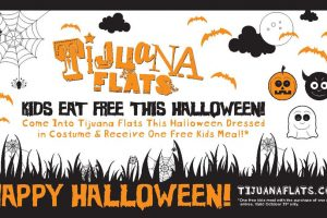 Kids eat free on Halloween