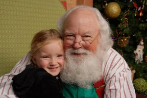 Visit with Santa Claus in Orlando