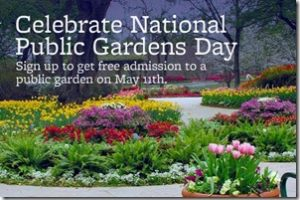 Free entry for Public Gardens Day