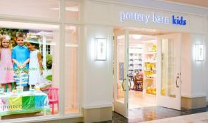 Story time at Pottery Barn Kids