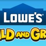 Free kids' crafts at Lowe's