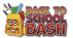 Back to School Bash Aug. 11