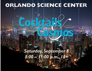 Cocktails & Cosmos at Orlando Science Center