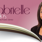 Olympian Gabrielle Douglas booking signing at library