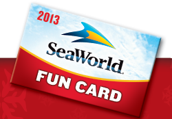 SeaWorld Fun Card 2013