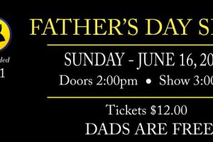 Free Father's Day show for dads at SAK Comedy Lab