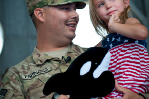 Free admission to SeaWorld parks for Military