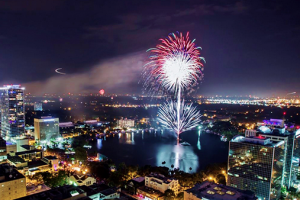 Free fireworks shows & 4th of July events in Orlando