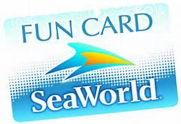 seaworld fun card