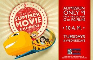Summer Movie Express: $1 kid flicks at Regal Cinemas