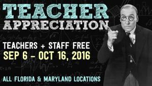 Ripleys Believe It Or Not Teacher Appreciation