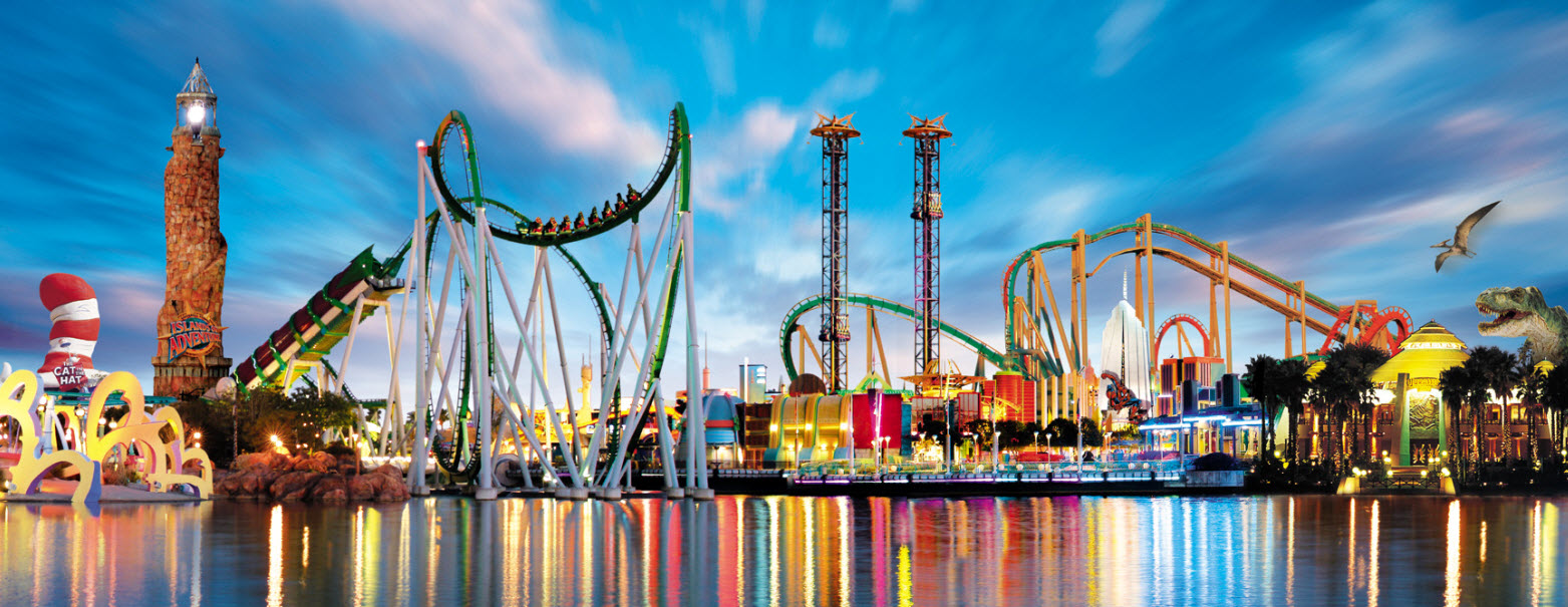 Orlando is perhaps the ultimate family-fun destination, with Disney World, Universal, Sea World, and Busch Gardens, plus great shows like Cirque du Soleil La Nouba, Arabian Nights, and more.