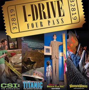 I-Drive Four Attractions Pass