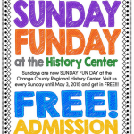 Free admission to History Center on Sundays