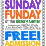 Free admission to History Center on Sundays