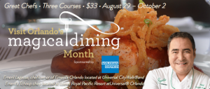 Orlando Magical Dining Month