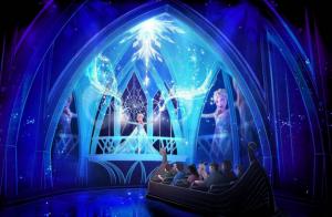 Walt Disney World Resort Frozen Ride