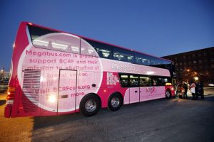 Megabus joins fight against breast cancer