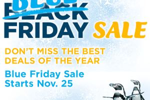 SeaWorld Orlando Blue Friday Sale