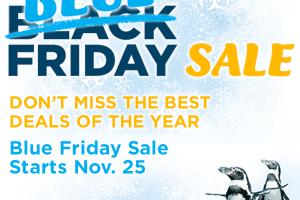 SeaWorld Orlando Blue Friday Sale