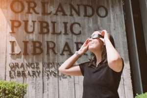 FREE solar eclipse glasses Aug. 21 at Orlando libraries