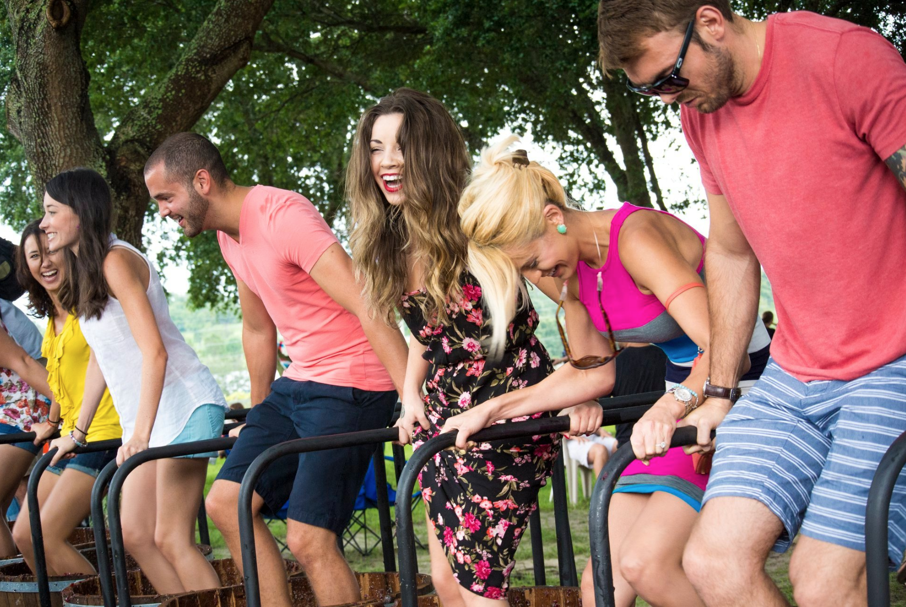 Cheap things to do in Orlando this weekend: Grape Stomp event at Lakeridge Winery.