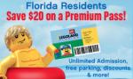 Legoland Florida Resident 2-Park Pass $129