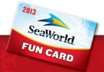 SeaWorld Fun Card 2014