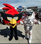 Angry Birds at Kennedy Space Center