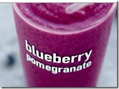 $1 for McDonald's blueberry pomegranate smoothies