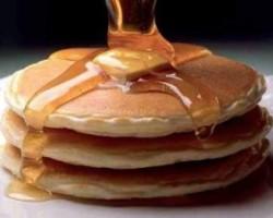 Free pancakes at Perkins Restaurant & Bakery