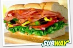 Subway's $6 Footlong Sub after 4 p.m.