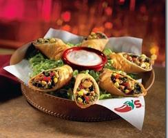 Free appetizer or dessert with Chili's entree